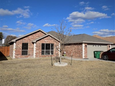 San Angelo TX Single Family Home For Sale: $205,000