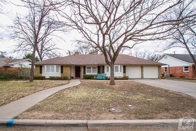 San Angelo Single Family Home For Sale: 2153 Sul Ross St