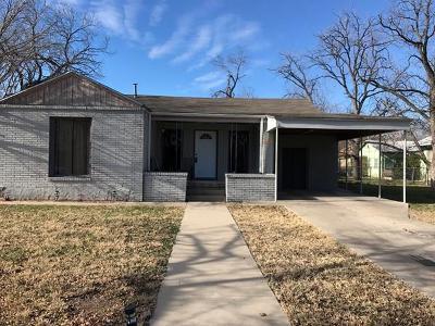 San Angelo Single Family Home For Sale: 319 N Madison St