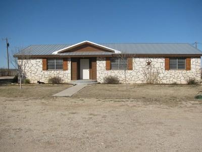 San Angelo Single Family Home For Sale: 1574 Reece Rd