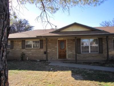 San Angelo Single Family Home For Sale: 1905 Harrison St
