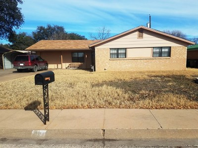 San Angelo Single Family Home For Sale: 30 Dellwood Dr
