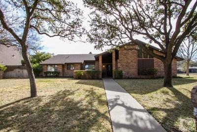 San Angelo Single Family Home For Sale: 3125 Oak Mountain Trail
