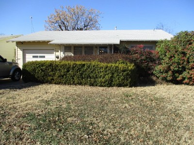 San Angelo Single Family Home For Sale: 2012 San Antonio St