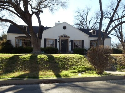 San Angelo Single Family Home For Sale: 421 S Park St
