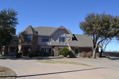 San Angelo Single Family Home For Sale: 6569 Spy Glass Dr