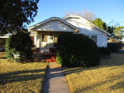 San Angelo Single Family Home For Sale: 1034 Culberson St