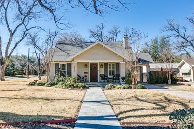 San Angelo Single Family Home For Sale: 1327 Mackenzie St