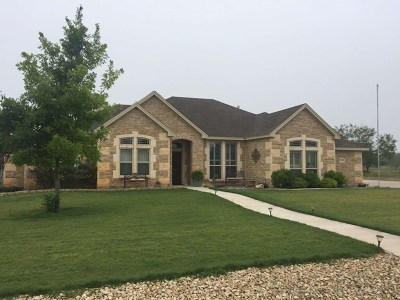 San Angelo TX Single Family Home For Sale: $299,900