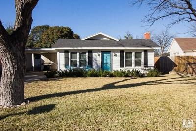 San Angelo TX Single Family Home For Sale: $144,900