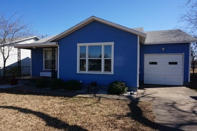 Single Family Home For Sale: 2325 Guadalupe St
