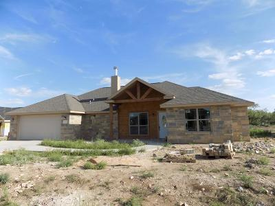 San Angelo Single Family Home For Sale: 8339 Panther Path