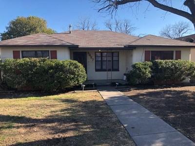 Single Family Home For Sale: 2427 San Antonio St