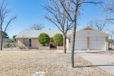 San Angelo TX Single Family Home For Sale: $184,900