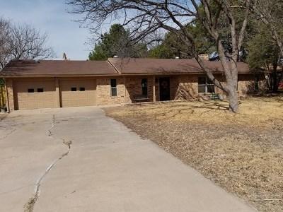 San Angelo TX Single Family Home For Sale: $159,900