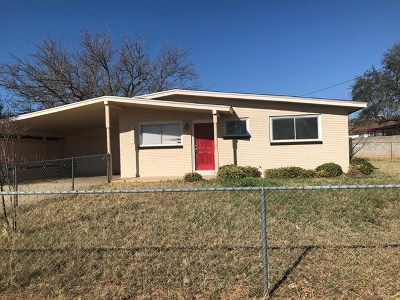 San Angelo Single Family Home For Sale: 3112 S Oxford Ave