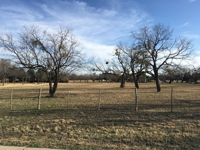 San Angelo Residential Lots & Land For Sale: 1521 Darlene St