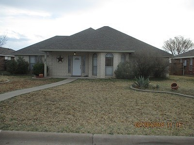 San Angelo TX Single Family Home For Sale: $184,500