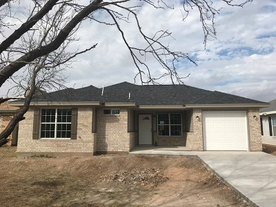 San Angelo Single Family Home For Sale: 1627 Cloud Ave