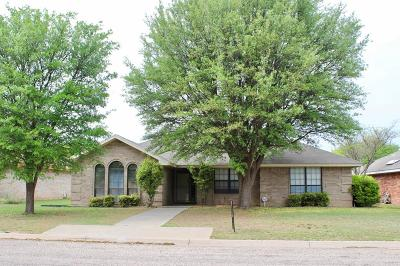 San Angelo Single Family Home For Sale: 3230 Forest Hill Dr