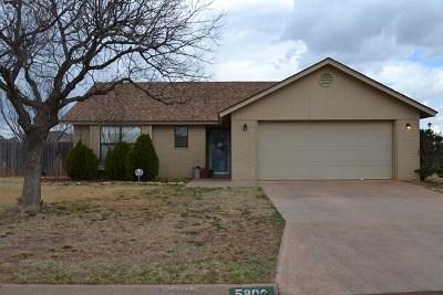 San Angelo Single Family Home For Sale: 5802 Davenport Dr