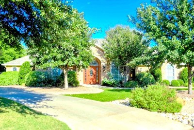 San Angelo TX Single Family Home For Sale: $493,000
