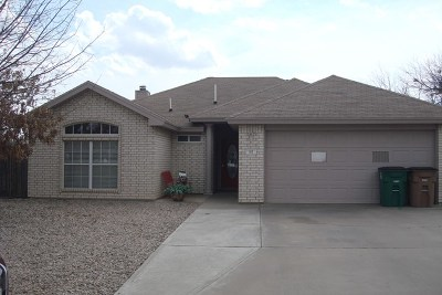 San Angelo TX Single Family Home For Sale: $178,900