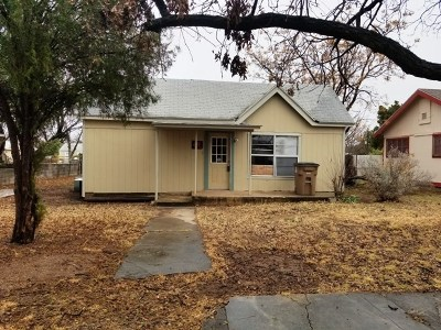 San Angelo Single Family Home For Sale: 1923 Bailey St