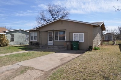 San Angelo Single Family Home For Sale: 313 E 27th St