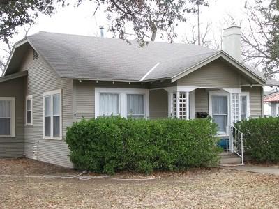 Single Family Home For Sale: 321 Monroe St