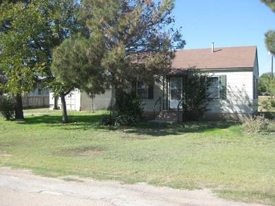 Ballinger Single Family Home For Sale: 1000 Ave B