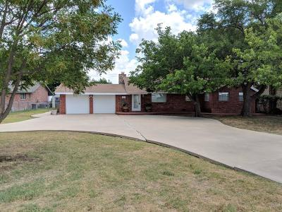 Lake Nasworthy, Lake Nasworthy Group 1, Lake Nasworthy Group 10, Lake Nasworthy Group 15, Lake Nasworthy Group 16, Lake Nasworthy Group 2, Lake Nasworthy Lincoln Pk, Lake Nasworthy Point 1, Lake Nasworthy Red Bluff, Nasworthy 2, Red Bluff Single Family Home For Sale: 1838 S Concho Dr