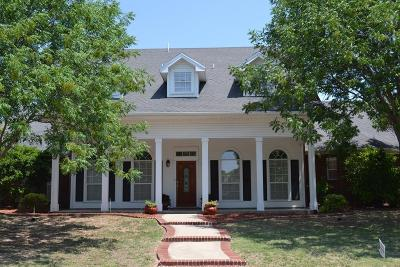 San Angelo Single Family Home For Sale: 3114 Scenic Vista Dr