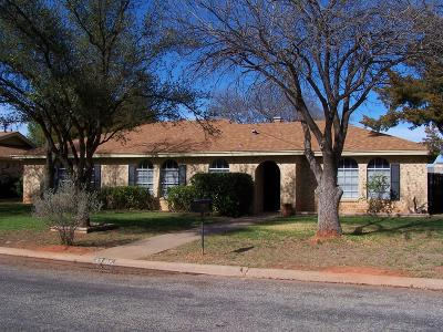 San Angelo Single Family Home For Sale: 3306 Timber Ridge Dr