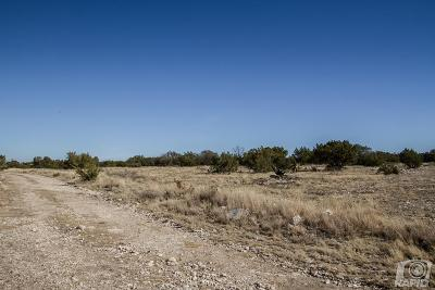 Christoval Residential Lots & Land For Sale: 17170 Caballo Blanco Lane
