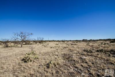 Christoval Residential Lots & Land For Sale: 17260 Caballo Blanco Lane
