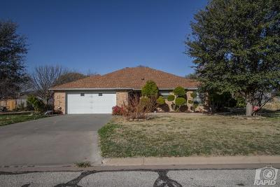 Single Family Home For Sale: 6317 Ranch Lane