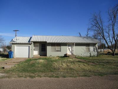 Robert Lee Single Family Home For Sale: 806 Vicki St