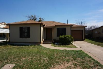 San Angelo TX Rental For Rent: $1,150