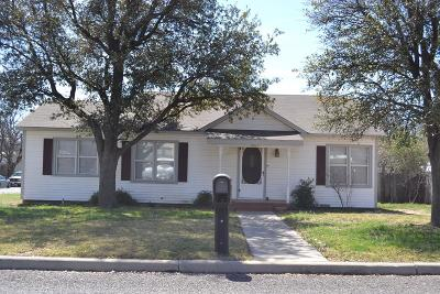 Single Family Home For Sale: 1803 W Ave H