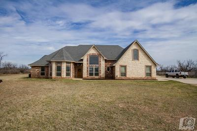 San Angelo Single Family Home For Sale: 3129 Buck Run St