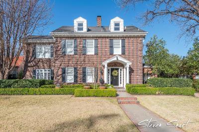 San Angelo TX Single Family Home For Sale: $750,000