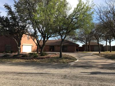 San Angelo Single Family Home For Sale: 6017 Kingsbridge Dr