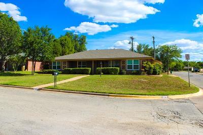 San Angelo Single Family Home For Sale: 3513 Tanglewood Dr