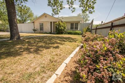 San Angelo Single Family Home For Sale: 715 Pulliam St