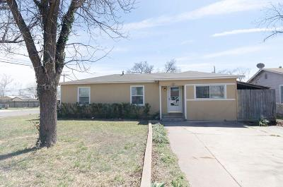 San Angelo Single Family Home For Sale: 1161 E 19th St