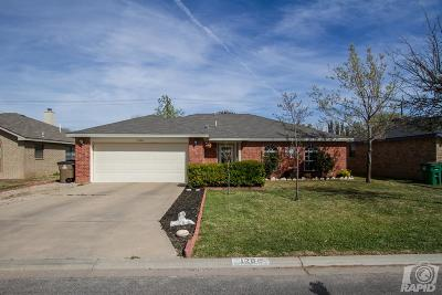 San Angelo TX Single Family Home For Sale: $155,000