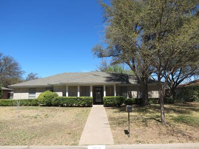San Angelo TX Single Family Home For Sale: $215,000
