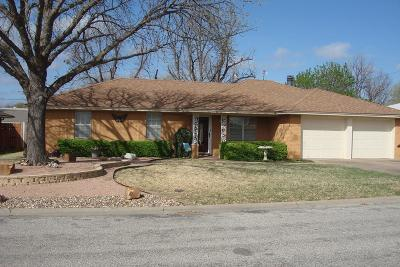 San Angelo TX Single Family Home For Sale: $159,900