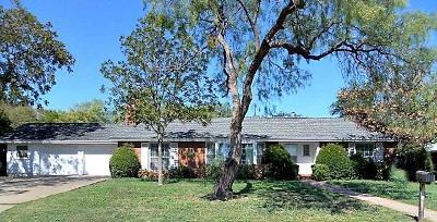 San Angelo TX Single Family Home For Sale: $184,500
